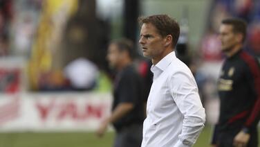 """Frank De Boer: """"Era el partido que necesitábamos para mejorar"""""""