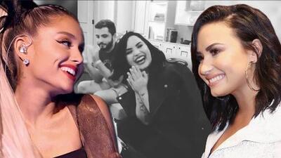 """Ariana Grande se encarga de que el cumpleaños de Demi Lovato sea el más """"happy"""" de todos"""