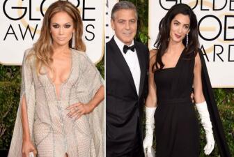 De JLo a Clooney, lo hot de los Golden Globes