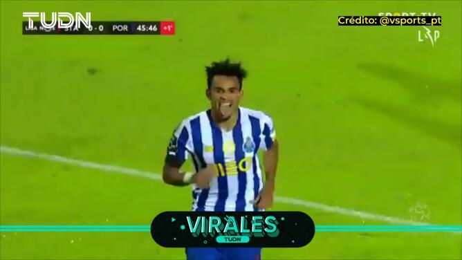 El maravilloso gol con el que el Porto de tecatito venció al Santa Clara