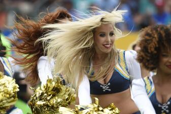 ¿Cuál fue la porrista más sensual en esta jornada de la NFL?