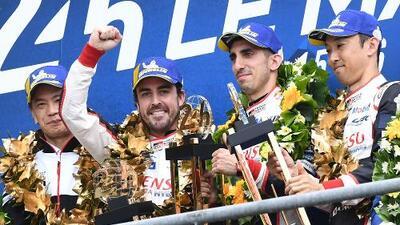 Fernando Alonso se corona por segunda vez en las 24 Horas de Le Mans
