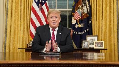 Primer discurso a la nación del presidente Trump lleno de imprecisiones