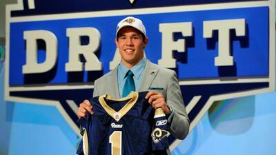 Jorge Pinzón: Los Rams y los curiosos cambios por la 1a. selección global del Draft