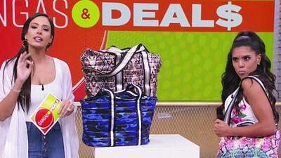 Aleyda Ortiz llegó con grandes descuentos en ropa, accesorios y productos de moda en 'Gangas & Deals'
