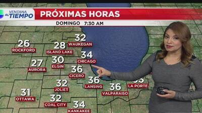 Chicago amanecerá este domingo con algo de sol y sin nieve, pero en medio de temperaturas muy frías