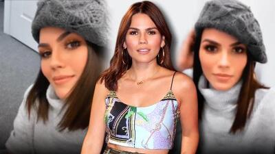 La razón por la que Karina Banda viste invernal a pesar de las cálidas temperaturas de Miami