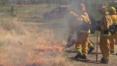 Bomberos de Sacramento se preparan para la temporada de incendios