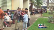 Cientos de personas se reunieron en el centro de San Antonio para recordar a Emilio Navaira