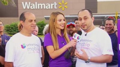 Ximena Córdoba compartió una buena noticia de Univision Mobile
