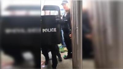 Esposa del inmigrante arrestado violentamente por ICE narra la angustia de sus hijos tras el operativo