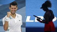 Djokovic llega a la final de Australian Open, Osaka despacha a Serena