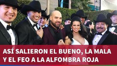 Así gozaron la alfombra roja de los Latin GRAMMY, 'El Bueno, La Mala y El Feo'