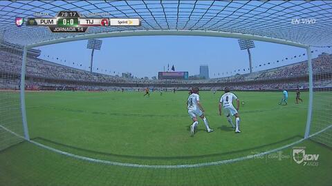 ¡RIDÍCULA FALLA! Castillo dejó ir el gol para Xolos