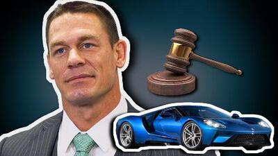Exclusiva: John Cena nos habla sobre la demanda de Ford por la venta de su Ford GT