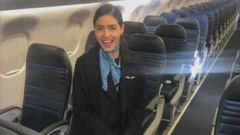 La pesadilla que sufrió esta dreamer al salir de EEUU en un vuelo en el que trabajaba como azafata
