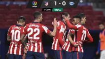 Luis Suárez y Jan Oblak aseguran el liderato para el Atlético