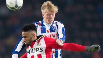 PSV empata 1-1 con Heerenveen y pone en riesgo su liderato en la Eredivisie