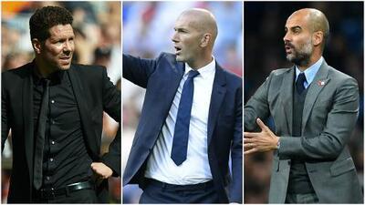 Guardiola, Simeone, Luis Enrique y Zidane, candidatos Mejor Entrenador FIFA