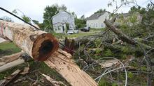 Tormentas y tornados dejan dos muertos en Georgia y continúa el peligro en el sureste para 100 millones de personas