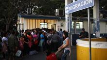 El gobierno de AMLO detuvo a cerca de 170,000 migrantes en la frontera con Guatemala, un 50 por ciento más que en 2018