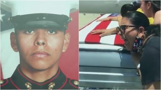 """""""¡Por qué!"""": los gritos de una madre al recibir el cuerpo de su hijo soldado muerto en base militar"""