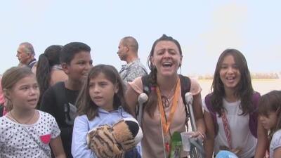 Colombianos en Puerto Rico regresaron a su país tras el paso de María