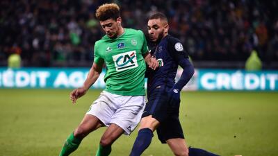 Saint Etienne 1-3 Paris Saint Germain: El PSG ya está en semifinales de la Copa de Francia