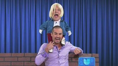 Vulgarcito le pidió ayuda a José Ron para actuar y besar actrices