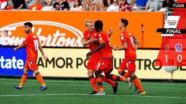 Forge FC toma ventaja en la Concacaf League