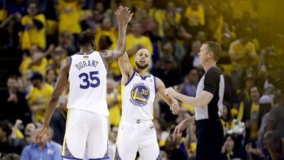 Un error infantil le da la victoria a Golden State en el Juego 1 de las NBA Finals
