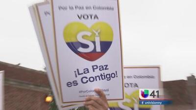 Protestas y participación en el plebiscito por la paz en Colombia