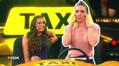 Ariadne Díaz tomó el control de 'El taxi' de 'Me caigo de risa' y esta confusión le impidió completar el juego
