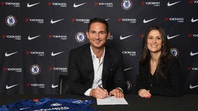 Oficial: Lampard ya es el entrenador del Chelsea