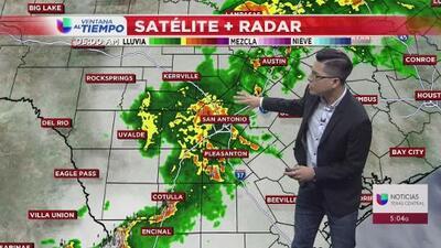 Se mantiene una alerta del tiempo en San Antonio y Austin