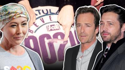 Tragedias, escándalos y una larga amistad: la vida de los protagonistas de 'Beverly Hills, 90210' en 29 años