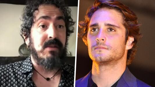 Actor de la serie de Luis Miguel muestra moretones y acusa a Diego Boneta de lastimarlo