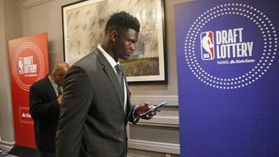 Los Pelicans ganan la Lotería y tienen la primera selección del Draft de la NBA