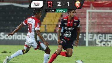 Gracias a Bryan Ruiz, Alajuelense avanza en la Concacaf League