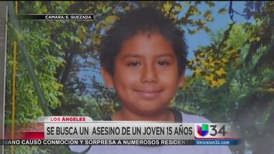 Balacera cobra la vida de un adolescente de 15 años