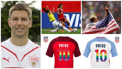 Fútbol y diversidad: hicieron pública su orientación LGBTQ