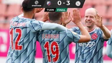 Logra Ajax séptimo triunfo y se mantiene como líder de la Eredivisie