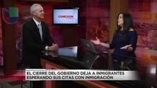 El cierre de gobierno causa estragos en más de 100,000 audiencias migratorias
