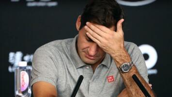 Roger Federer, en duda parta el Abierto Australia 2021