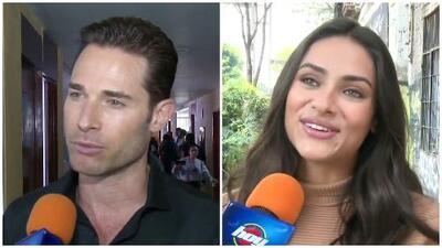 Sebastián Rulli y Renata Notni están con sentimientos encontrados tras el fin de grabaciones de El Dragón