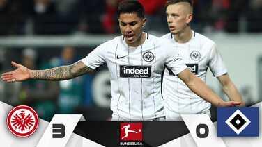 Carlos Salcedo volvió a la actividad en el triunfo del Eintracht Frankfurt sobre Hamburgo