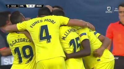 ¡GOOOL! Carlos Bacca anota para Villarreal