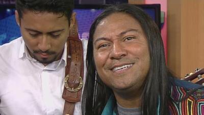 """'Harín el Indio', el cantante que encontró """"la luz"""" y quiere compartirla a través de la música"""
