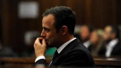 La Policía contradice a Pistorius al negar que llevase prótesis en el crimen