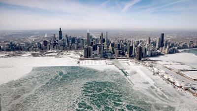 Chicago, Minneapolis y Detroit, las más afectadas por el vórtice polar (fotos)